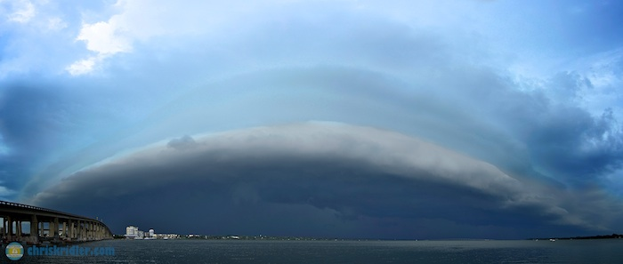 Florida shelf cloud